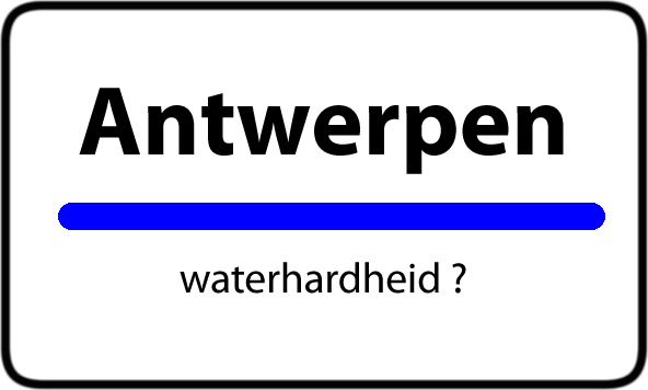 Antwerpen waterhardheid