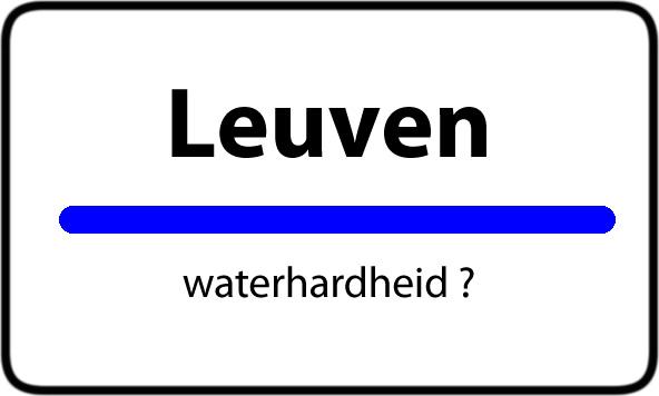Waterhardheid Leuven Hard Water