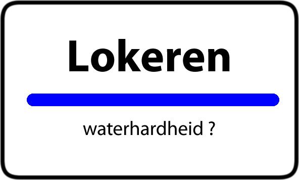 Waterhardheid Lokeren