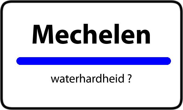 Waterhardheid Mechelen
