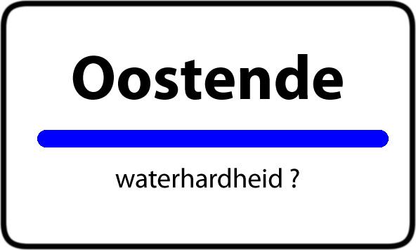 Waterhardheid Oostende