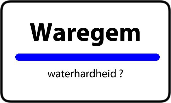 Waterhardheid Waregem water hardheid
