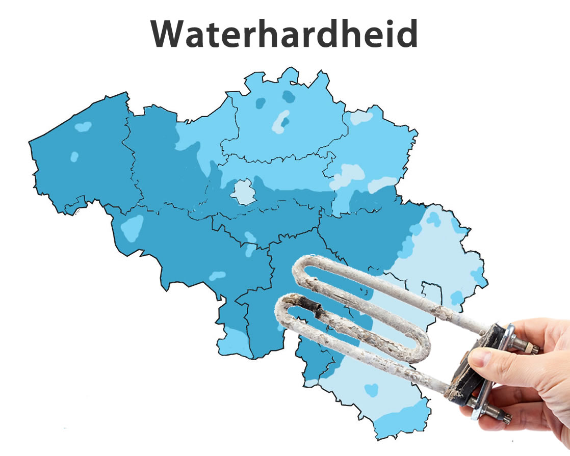 waterhardheid in Stene