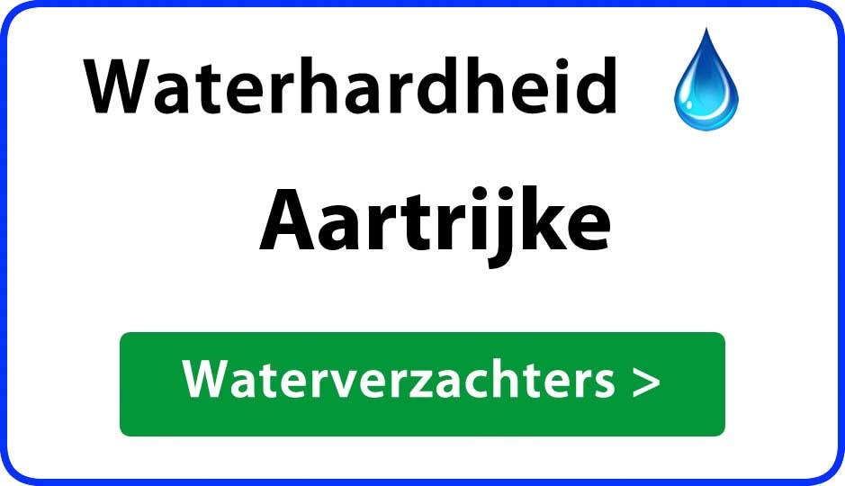 waterhardheid aartrijke waterverzachter