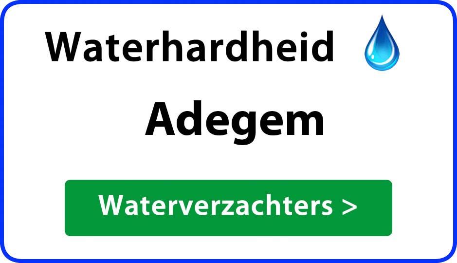 waterhardheid adegem waterverzachter