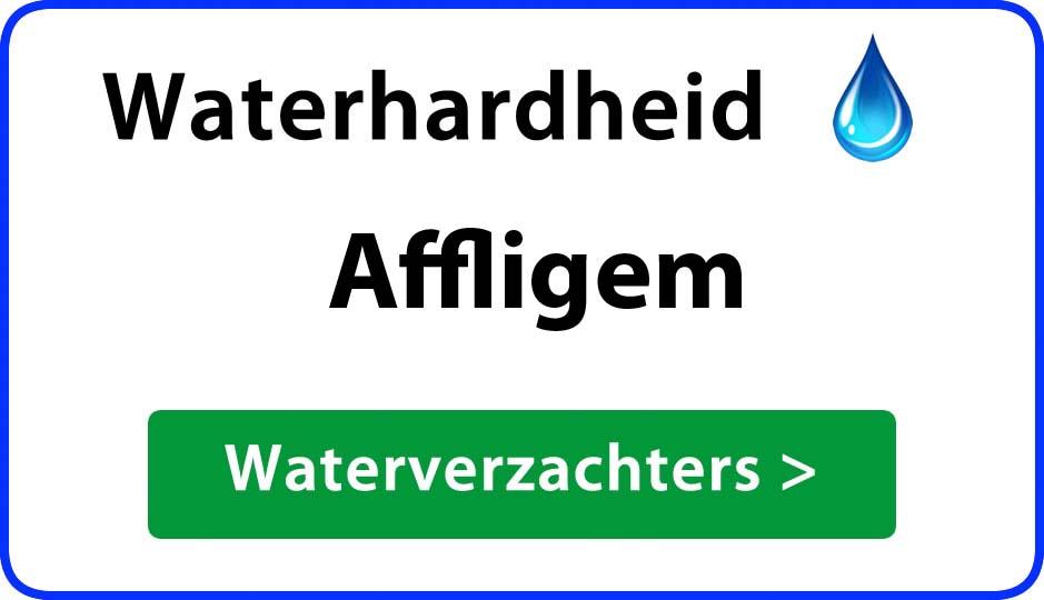 waterhardheid affligem waterverzachter