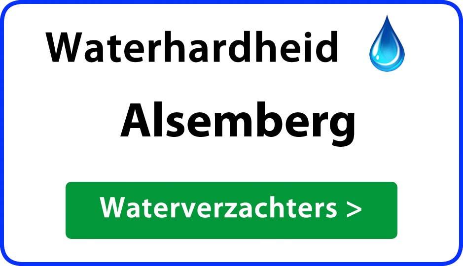 waterhardheid alsemberg waterverzachter