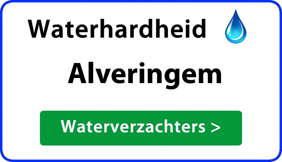 waterhardheid alveringem waterverzachter
