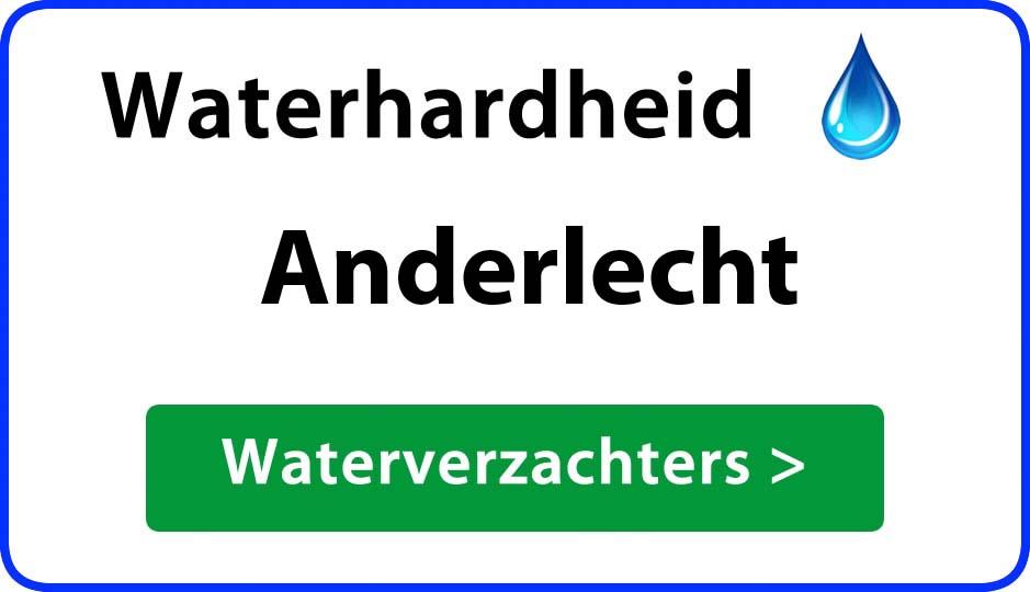waterhardheid anderlecht waterverzachter