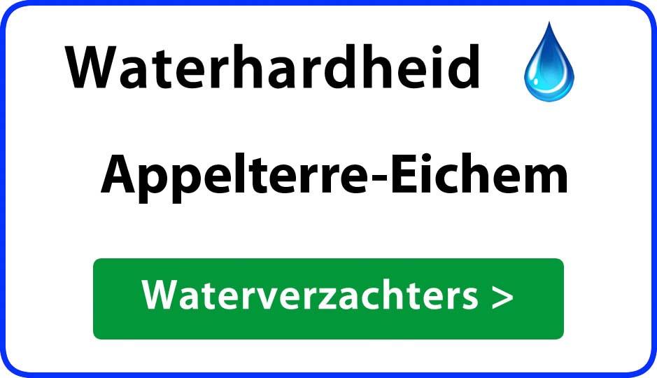 waterhardheid appelterre-eichem waterverzachter