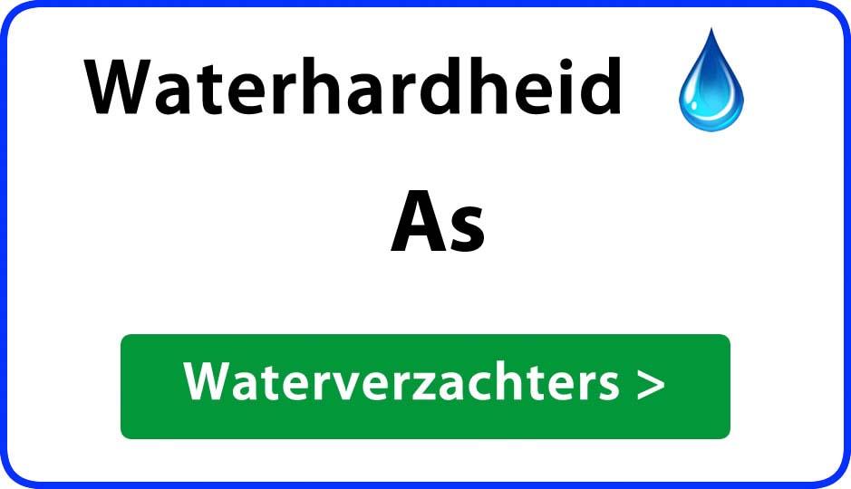 waterhardheid as waterverzachter
