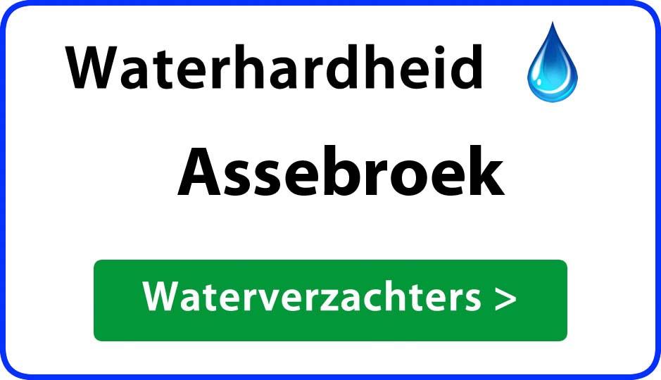 waterhardheid assebroek waterverzachter