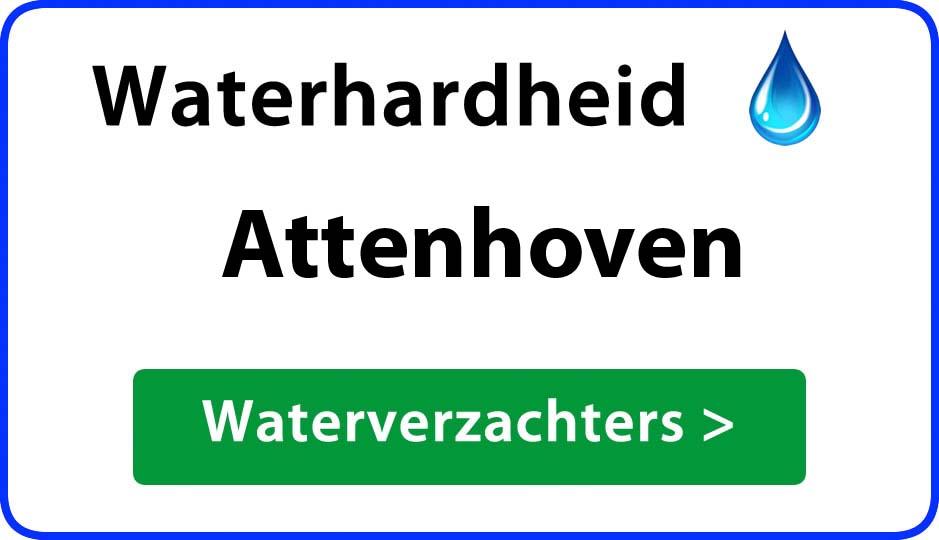 waterhardheid attenhoven waterverzachter