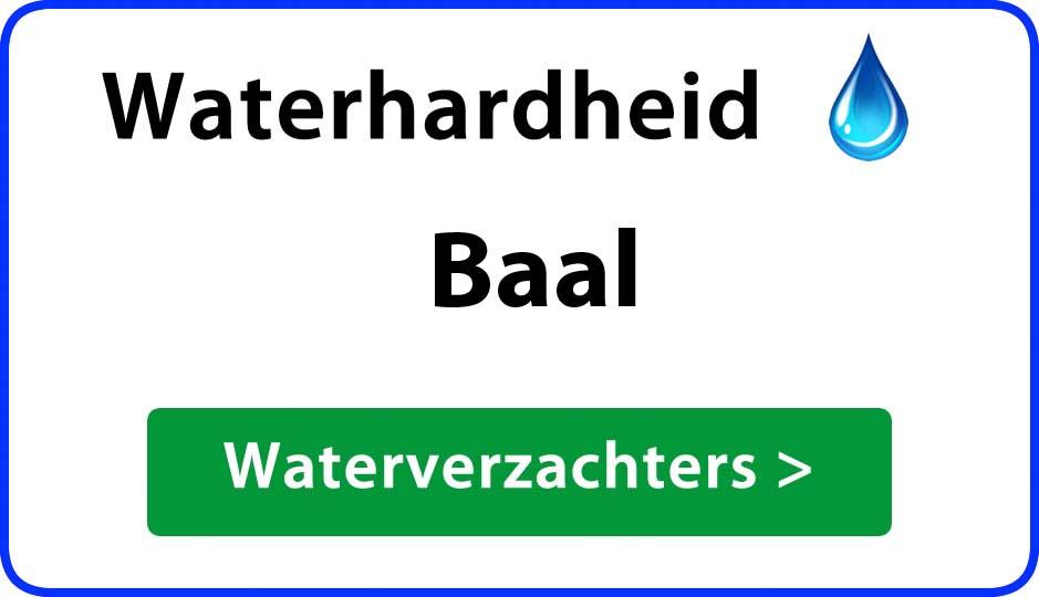 waterhardheid baal waterverzachter