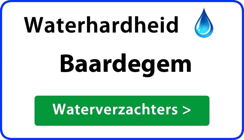waterhardheid baardegem waterverzachter