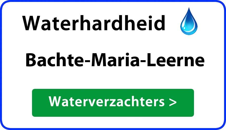 waterhardheid bachte-maria-leerne waterverzachter