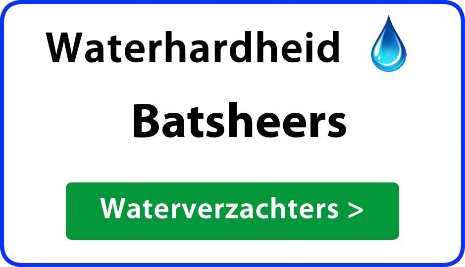 waterhardheid batsheers waterverzachter