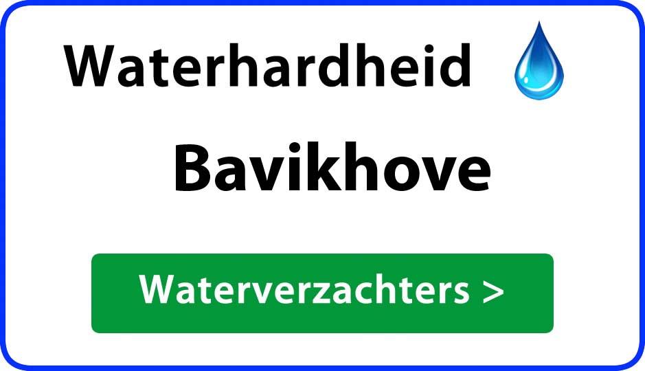 waterhardheid bavikhove waterverzachter