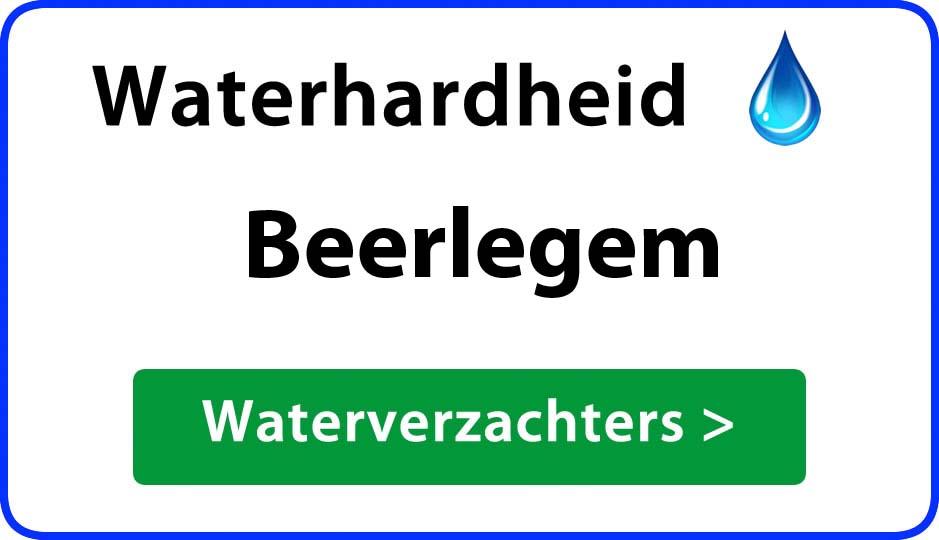 waterhardheid beerlegem waterverzachter