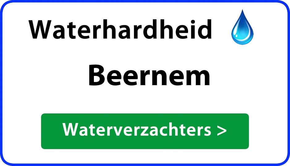 waterhardheid beernem waterverzachter