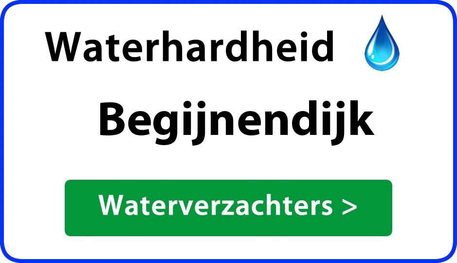 waterhardheid begijnendijk waterverzachter