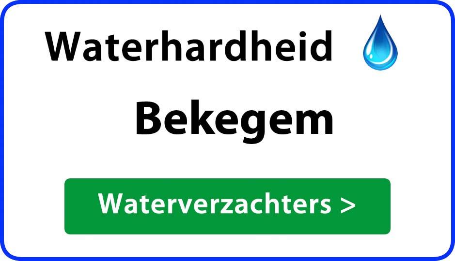 waterhardheid bekegem waterverzachter