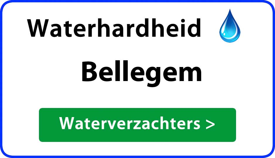 waterhardheid bellegem waterverzachter