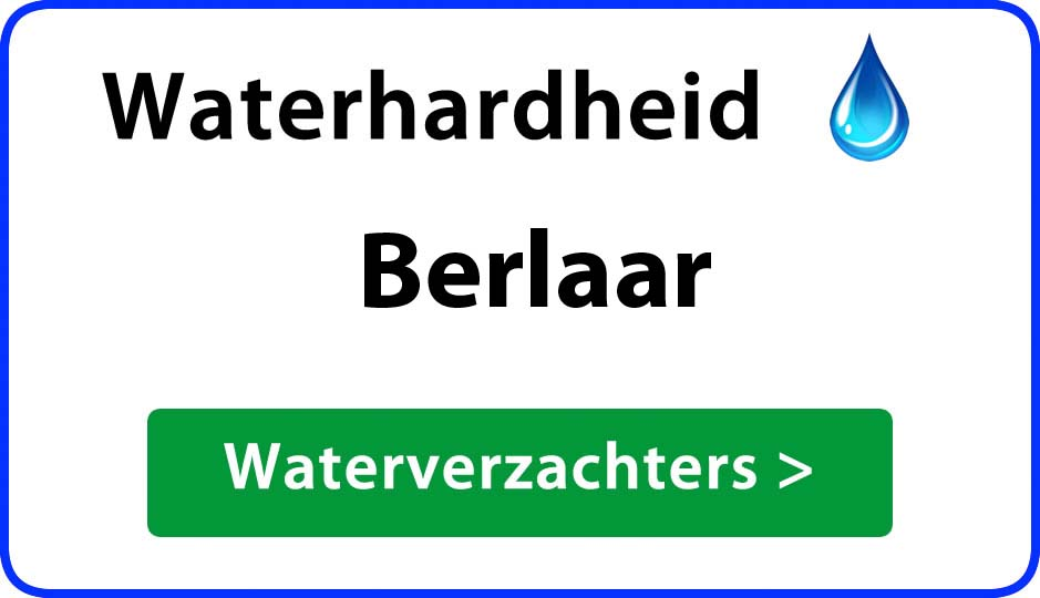waterhardheid berlaar waterverzachter