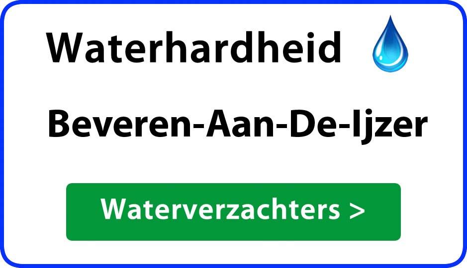 waterhardheid beveren-aan-de-ijzer waterverzachter