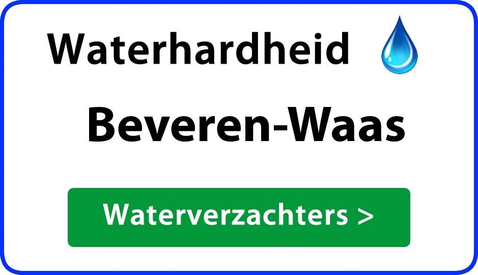 waterhardheid beveren-waas waterverzachter