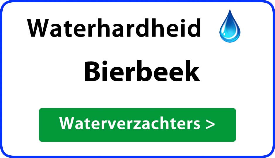 waterhardheid bierbeek waterverzachter