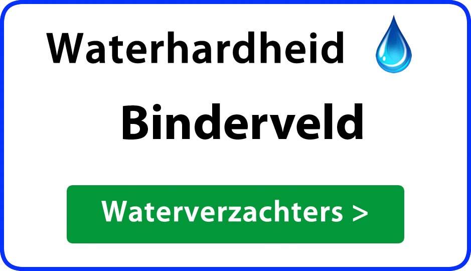 waterhardheid binderveld waterverzachter