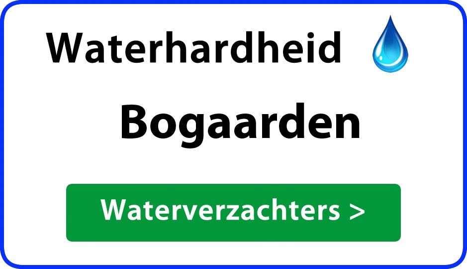 waterhardheid bogaarden waterverzachter