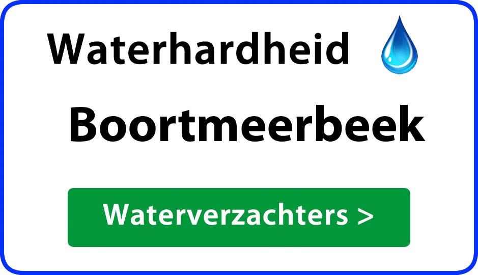 waterhardheid boortmeerbeek waterverzachter