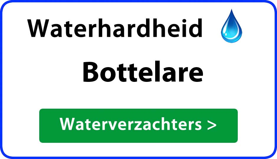 waterhardheid bottelare waterverzachter