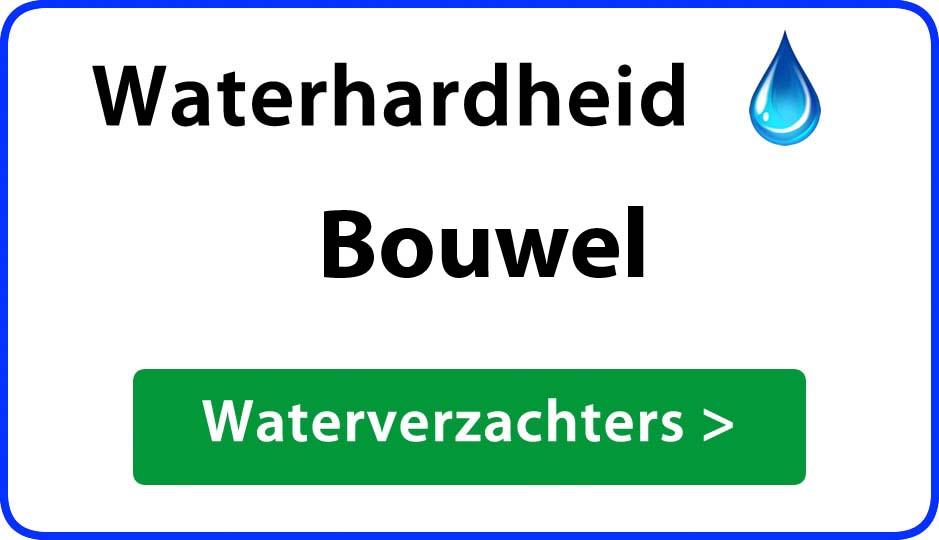 waterhardheid bouwel waterverzachter