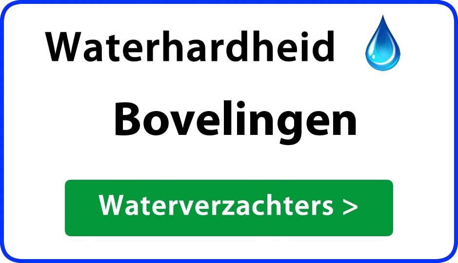 waterhardheid bovelingen waterverzachter