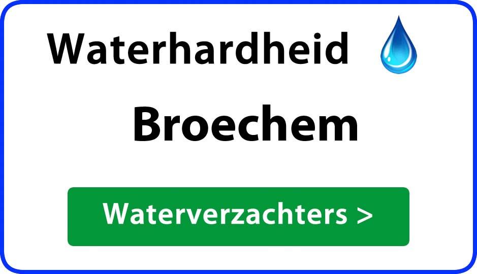 waterhardheid broechem waterverzachter