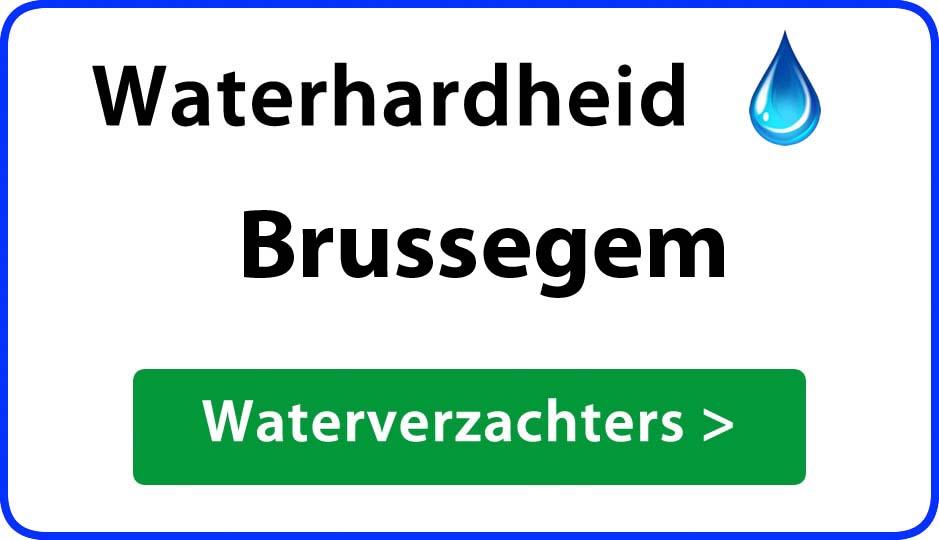 waterhardheid brussegem waterverzachter