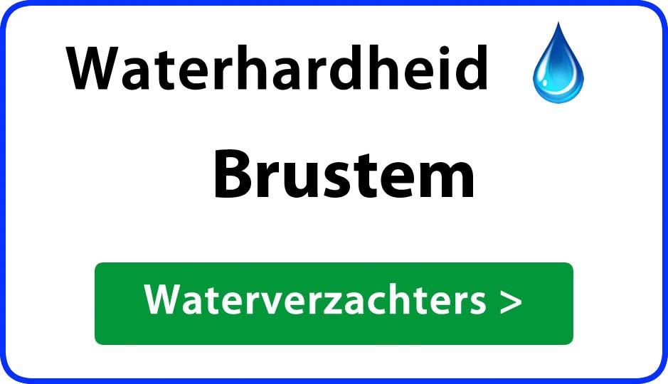 waterhardheid brustem waterverzachter