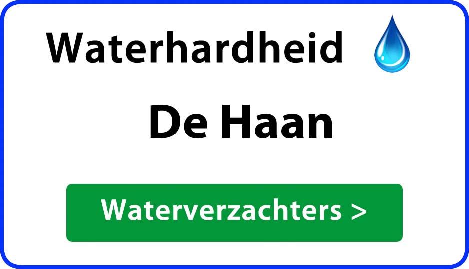 waterhardheid de-haan waterverzachter