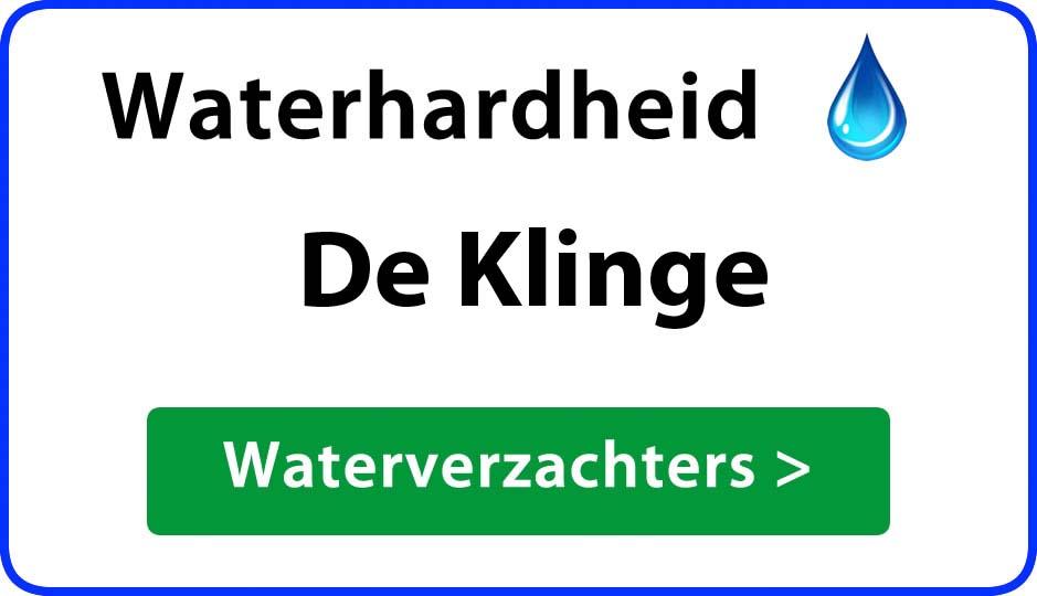waterhardheid de-klinge waterverzachter