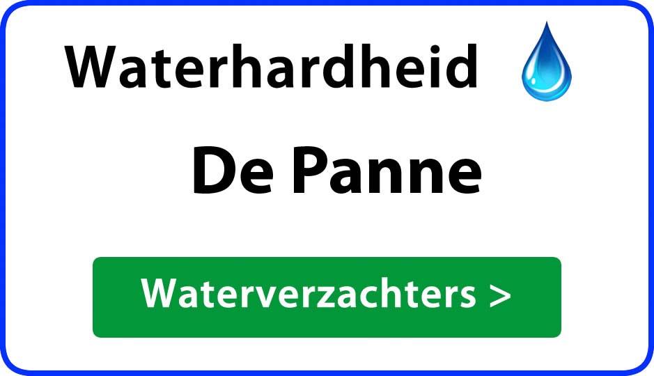 waterhardheid de-panne waterverzachter