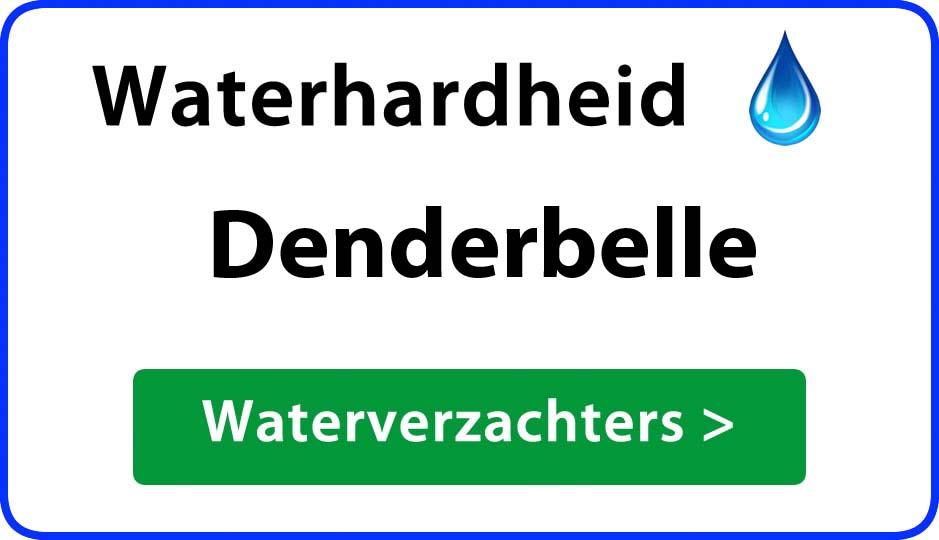 waterhardheid denderbelle waterverzachter