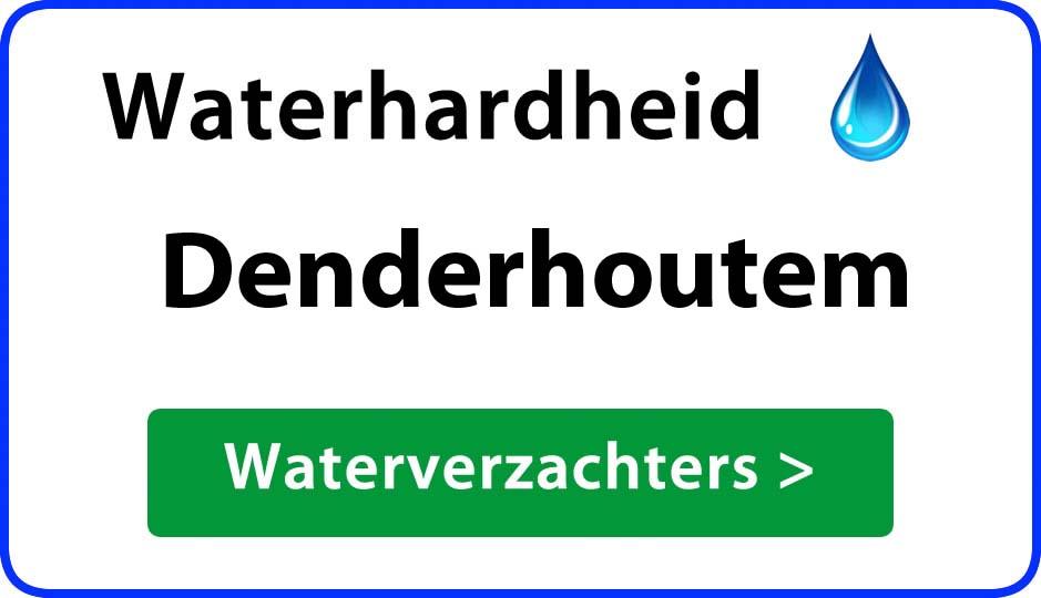 waterhardheid denderhoutem waterverzachter