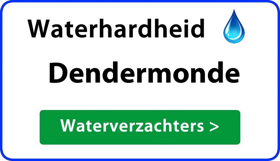 waterhardheid dendermonde waterverzachter