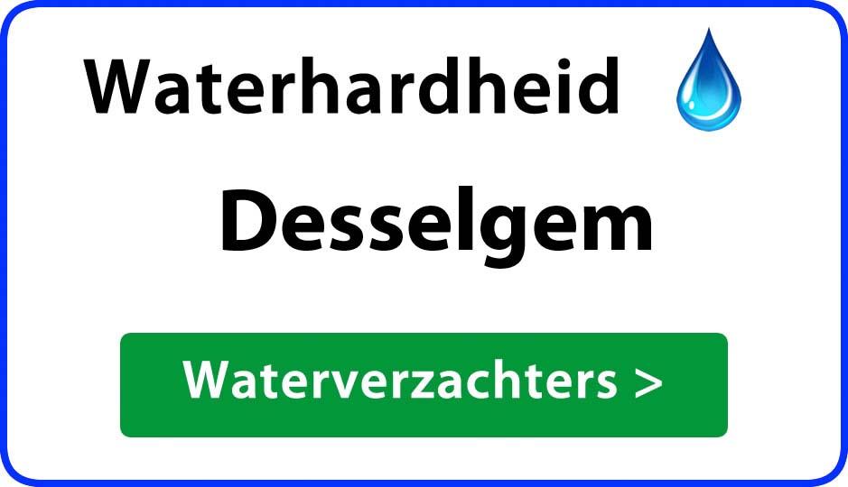 waterhardheid desselgem waterverzachter