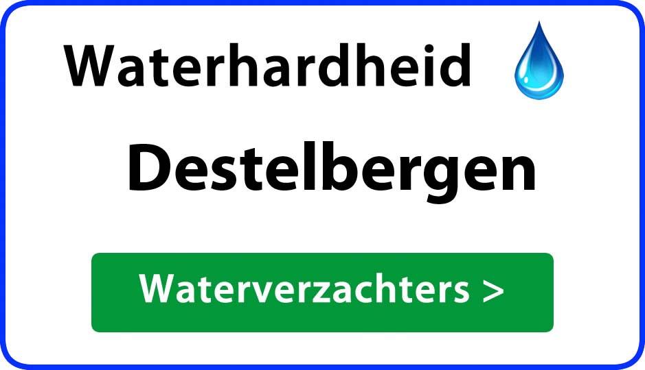 waterhardheid destelbergen waterverzachter