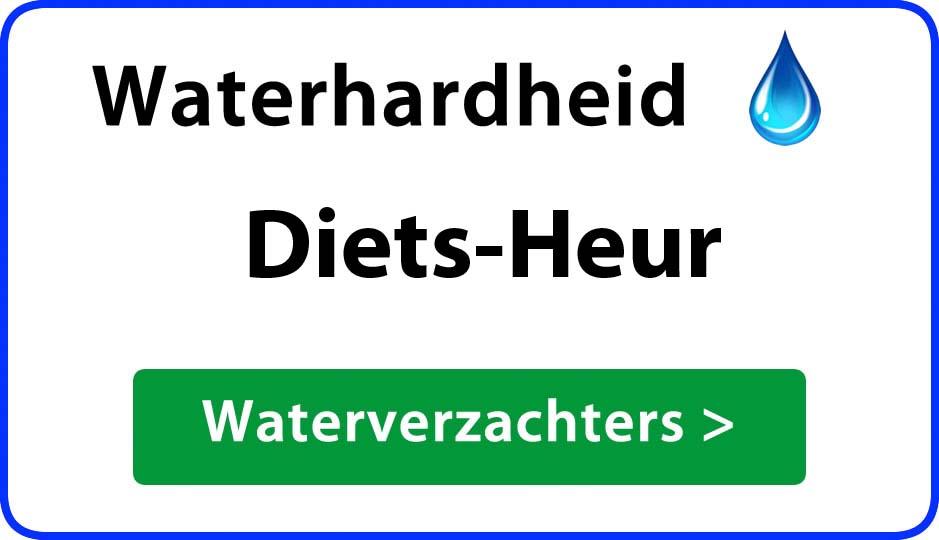 waterhardheid diets-heur waterverzachter