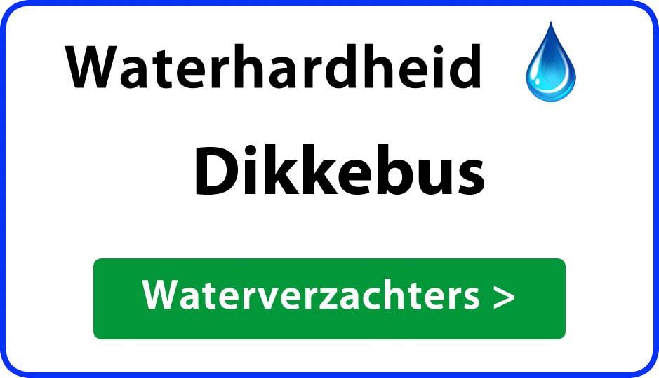 waterhardheid dikkebus waterverzachter